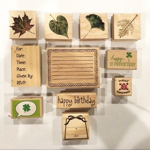 Other - Wooden Craft Stamps